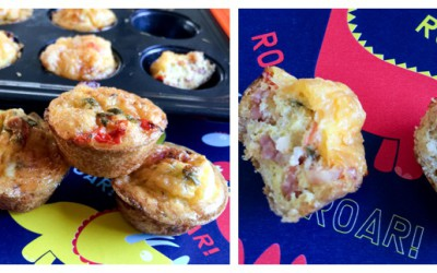 Quick & Easy Mini Quiches for Hungry Kiddies