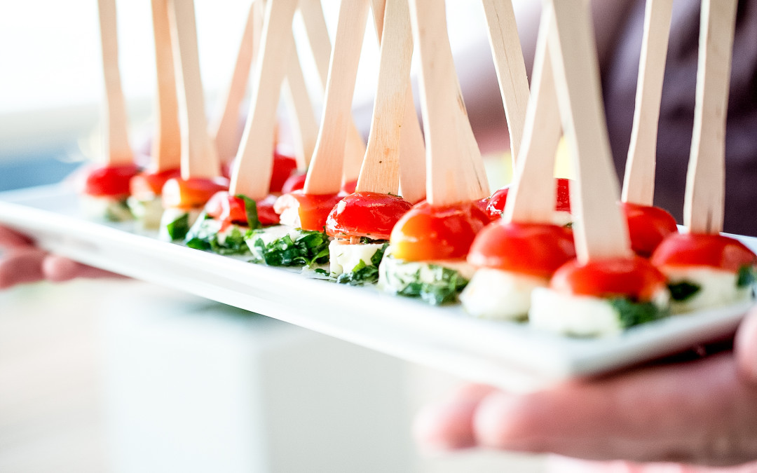 Bite Sized Caprese Salad Skewers