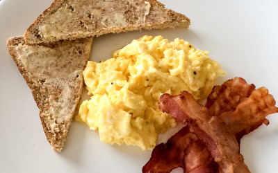 Mastering Scrambled Eggs…