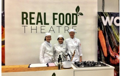 Chefs in Action at the Real Food Theatre – Good Food and Wine Show 2013