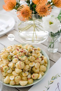 New Baby Potato Salad with Mustard Dressing
