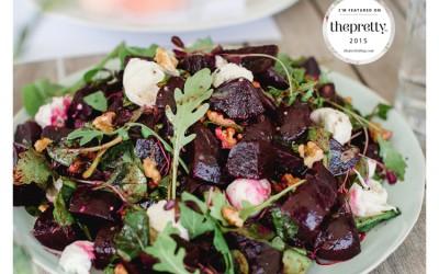 Beetroot, Walnut & Bocchini Salad