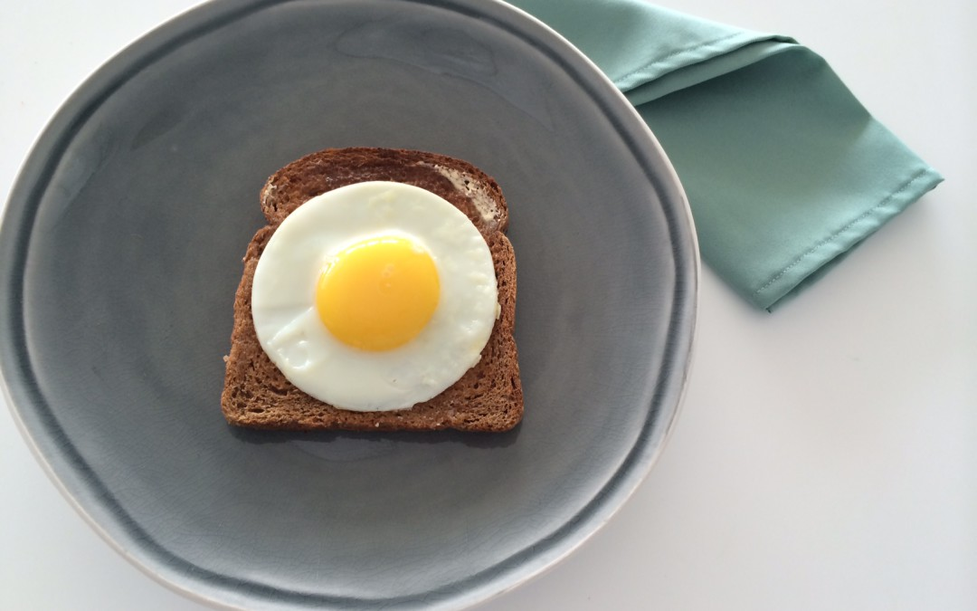Frying the Perfect 'Sunny Side Up' Egg