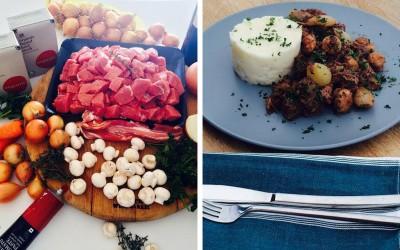 Julia Child's Beef Bourguignon…