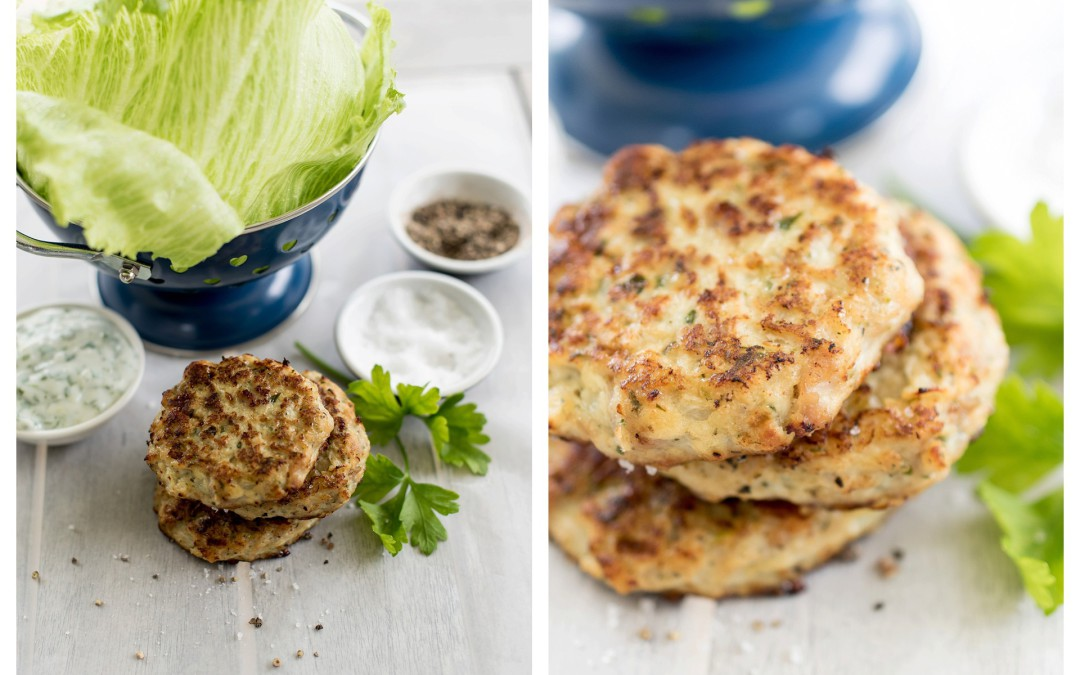 Chicken Frikkadel's with Apple & Parmesan – so healthy your toddler can eat them too !