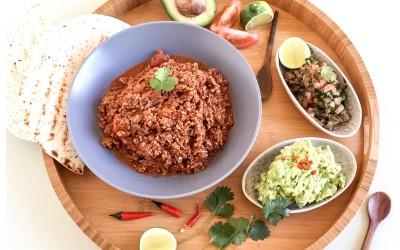 Spicy Mince & Salsa Wraps